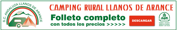 Tarifa completa Llanos de Arance
